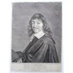 El Retrato grabado de Descartes de Carolus Allard, en colección privada y en el Staatliche Graphische Sammlung en Munich: inventario Nr. 37055 D, y en colección privada.