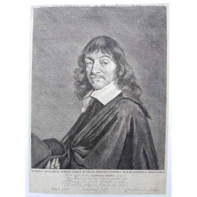 El Retrato grabado de Descartes de Carolus Allard