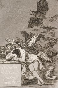 300px-Francisco_José_de_Goya_y_Lucientes_-_The_sleep_of_reason_produces_monsters_(No._43),_from_Los_Caprichos_-_Google_Art_Project