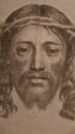La Santa Faz de 1649 del pintor y grabador francés del siglo XVII Claude Mellan