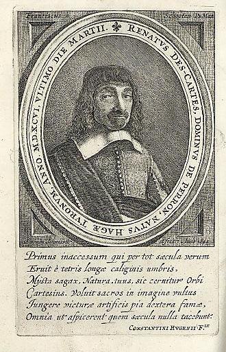 Frans van Schooten y su Retrato de René Descartes