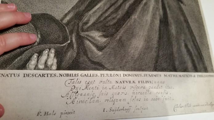 Mano_bebe_Descartes_Retrato_grabado_Carolus_Allard_jonas_Suyderhoef_1650_frans_hals