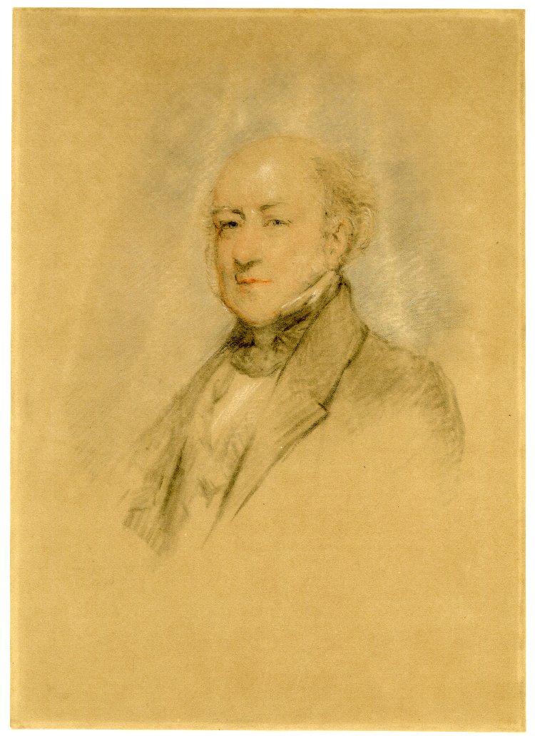 Felix Slade pintado por Margaret Sarah Carpenter, en 1851